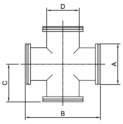 ISO Crosses 4 Way