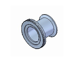 ISO Fittings ISO TO CF Tubulated Adaptors