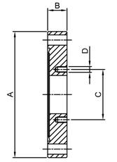 CF zero length flange adaptors
