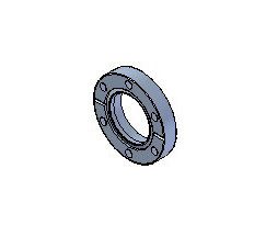 Fixed CF Bored Flanges