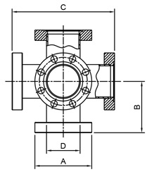 CF Crosses 6 Way Fixed