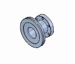 CF to ISO Tubulated Adaptors