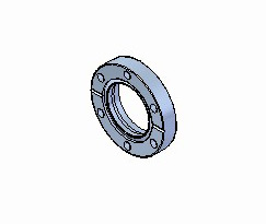 Rotatable CF Bored Flanges