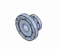 Fixed CF Tubulated Reducing Adaptors