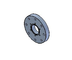 CF to Zero Length Flange Adaptors