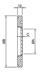 ISO Vacuum Viewports